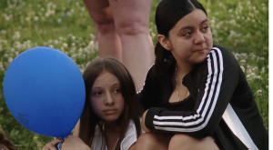 Children at a vigil