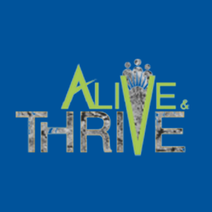 Alive & Thrive Logo